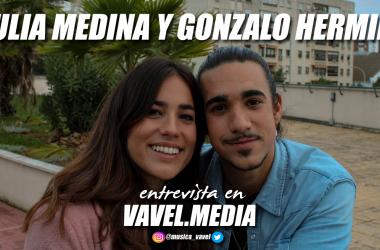 """Entrevista. Julia Medina y Gonzalo Hermida: """"Si me junto con Julia una canción crece el doble"""""""