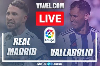 Real Madrid vs Real Valladolid en vivo y en directo online en LaLiga