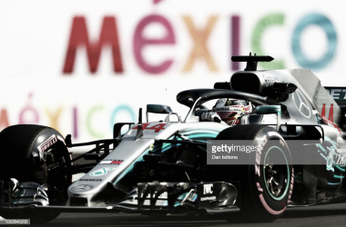 Hamilton en el Autódromo Hermanos Rodríguez