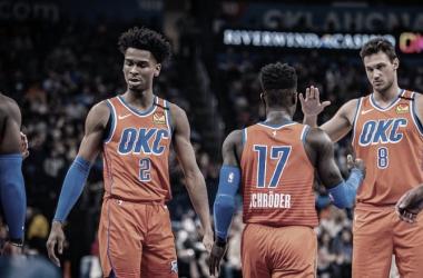 Oklahoma City Thunder: una sorpresa que pocos imaginaban