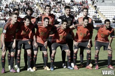 Último once inicial de la Real Sociedad esta temporada ante el Rayo Vallecano. | Imágen: Guillermo Gómez (Vavel.com)