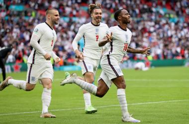 Inglaterra 2-0 Alemania: Kane y Sterling quieren esta Eurocopa