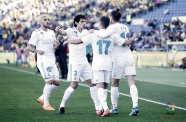 El Madrid aprieta. Foto: La Liga