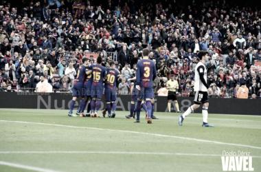 El Barça se acerca al título. Foto: Noelia Déniz (VAVEL)