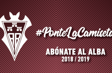 """El Albacete Balompié presenta la campaña de abonos """"Ponte la camiseta"""" para la temporada 2018/19   Foto: albacetebalompie.es"""