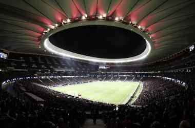 El feudo atlético acogerá el 1 de junio la final de la Champions League. Fuente: Atlético de Madrid