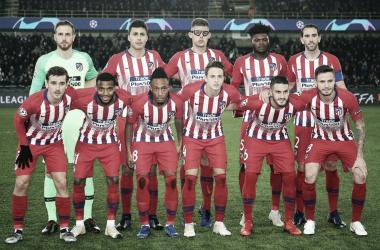 El 4-3-3 no fue suficiente para ganar en Bélgica. Fuente: Atlético de Madrid