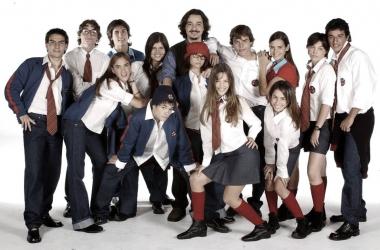 Imagen promocional de la telenovela 'Rebelde Way' Fuente: IMDb