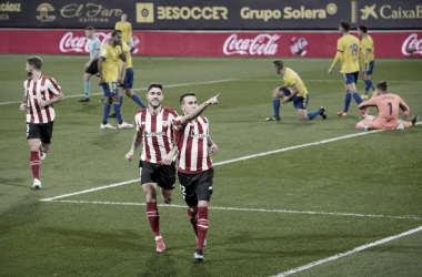 Berenguer celebrando un gol (Athletic Club)