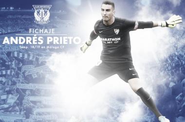 Andrés Prieto nuevo portero del CD Leganés | Foto: CD Leganés