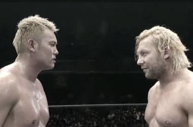 Okada vs. Omega 3 | Fuente: NJPW