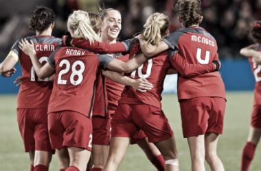 Allie Long scored the late equalizer | Source: Sam Ortega/isiphotos.com