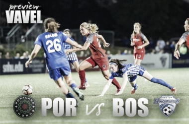 Portland visits Boston in a match crucial to their postseason.