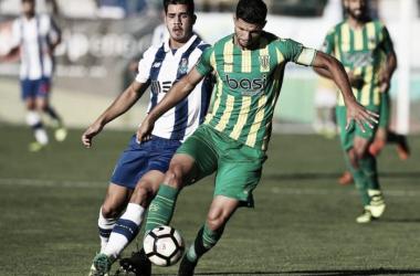 O FC Porto empatou a zeros com o Tondela| Foto: Mais Futebol