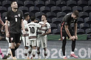 Sem Cristiano Ronaldo, Portugal goleia Croácia na estreia da Nations League