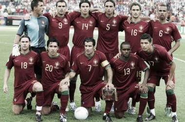 Os Heróis de Alemanha 2006. (Fonte: Lusa)