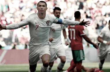 La contracrónica: Portugal aprovecha la efectividad de Cristiano ante una impotente Marruecos