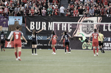 The Reign opened the scoring in the last match between these two teams, but Portland would respond with three goals of their own. | Photo: isiphotos.com
