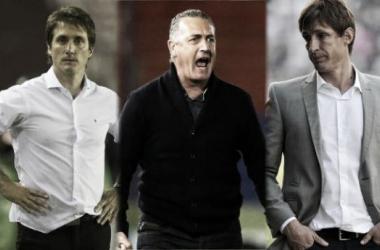 Barros Schelotto, Alfaro y Sava, el tridente técnico