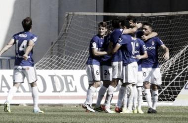 Cádiz da otra alegría al Real Oviedo. (Fotos:www.realoviedo.es)