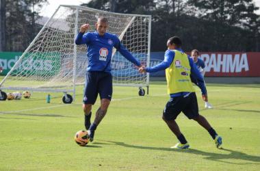 Fernandão quer voltar a marcar e assumir a artilharia isolada do campeonato (Foto: Divulgação/EC Bahia)