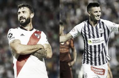 Pratto y Affonso, los pilares de la delantera de sus equipos (Fotomontaje: Adrián Gallardo)