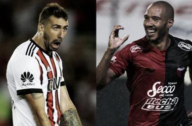 Pratto y Vera, la principal carta de gol de ambos equipos (Fotomontaje: Adrián Gallardo)