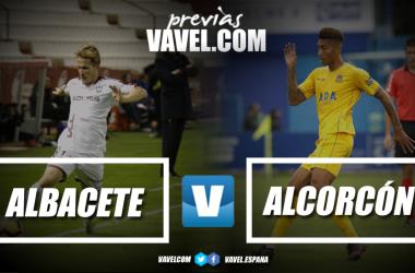 Previa Albacete vs Alcorcón | Fotomontaje: VAVEL.