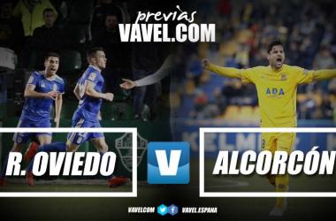 Previa Oviedo - Alcorcón   Fotomontaje: VAVEL