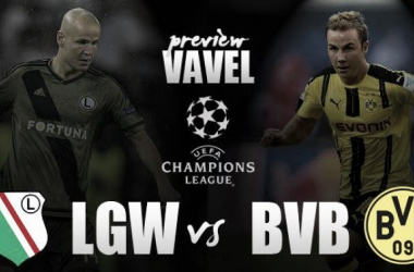 Champions League: Legia vs Dortmund, passeggiata di salute per i tedeschi?