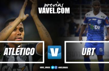 Com possível volta de Victor, Atlético-MG e URT decidem vaga na final do Mineiro
