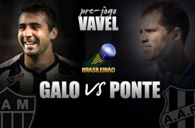 Pré-jogo: Atlético-MG visa diminuir vantagem para Corinthians diante da motivada Ponte Preta