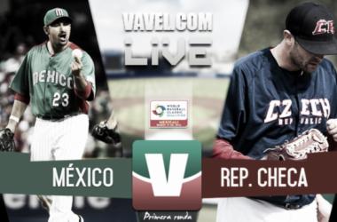 México se lleva el triunfo ante República Checa