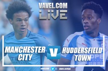 Resumen Manchester City 0-0 Huddersfield Town en Premier League 2018.