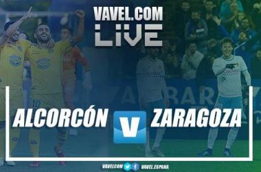 Alcorcón vs Zaragoza en VIVO y en directo online en LaLiga 1|2|3. Imagen: VAVEL