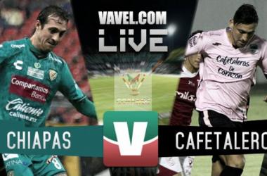 Chiapas vs Cafetaleros en vivo y en directo online Copa MX 2016 (0-0)