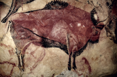 Bisontedel panel principal de la Cueva de Altamira (Cantabria). PD