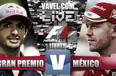 Sebastian Vettel lidera por sorpresa la segunda sesión de entrenamientos libres en México