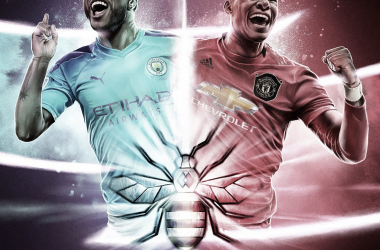 Manchester City vs Manchester United./ Foto: Premier League