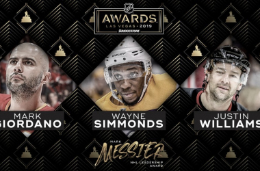 Giordano, Simmonds y Williams, candidatos al trofeo Mark Messier