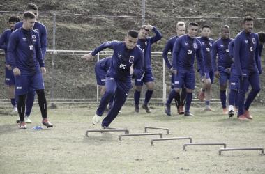 """<p class=""""MsoNormal"""" align=""""center"""" style=""""text-align:center""""><i>Foto: Rodrigo Sanches / Paraná Clube<o:p></o:p></i></p>"""