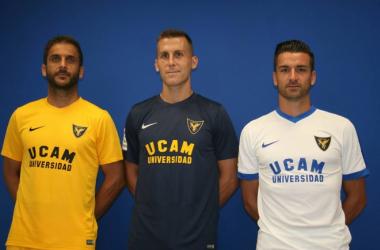 El UCAM Murcia reparte los dorsales y la capitanía