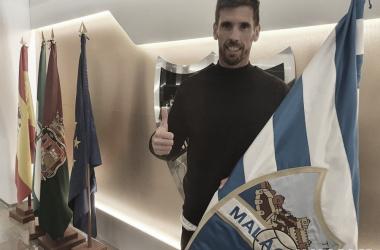 Presentación de Javi Ramos como nuevo entrenador / Foto: Málaga CF