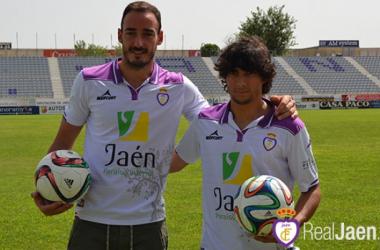 Mario Ramón y Victor Andrés(Foto: realjaen.com)