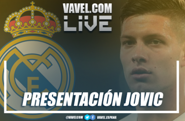 Luka Jovic, nuevo jugador del Real Madrid. Foto: VAVEL.com.
