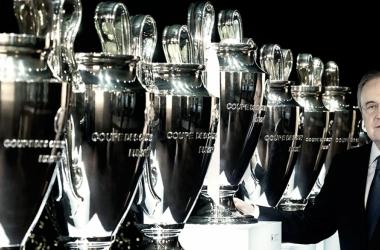 Los madridistas ya pueden contemplar la Decimotercera en el Tour del Bernabéu. // Foto: RealMadrid