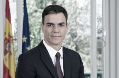 Pedro Sánchez, secretario general del PSOE y Presidente del Gobierno en funciones. Foto: Web oficial de la Moncloa.