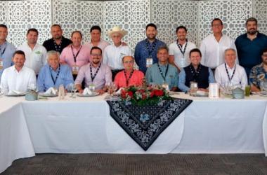 Reunión de directivos de LMB. (Foto: LMB)
