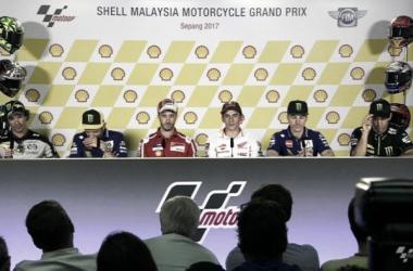 MotoGP in Malesia - Marquez tranquillo, Dovizioso carico, Rossi malinconico