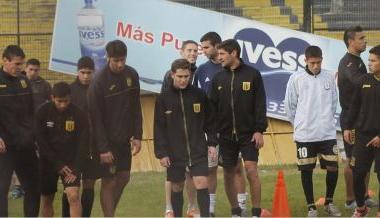 El equipo entrenando durante la pre temporada